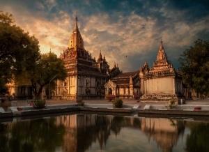 Как создавалась работа «Храм в Мьянма» | Дмитрий Мартынов | Обработка пейзажей | Урок #200721