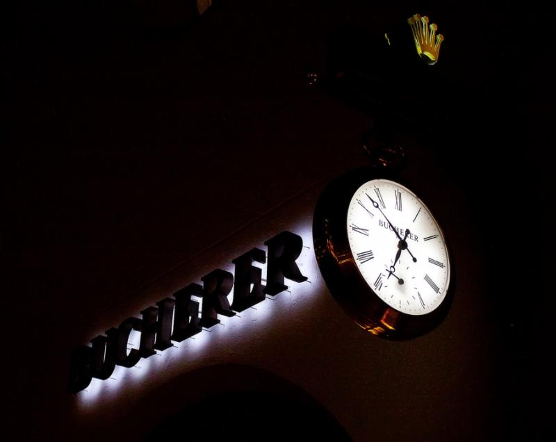Ночной локомотив.
