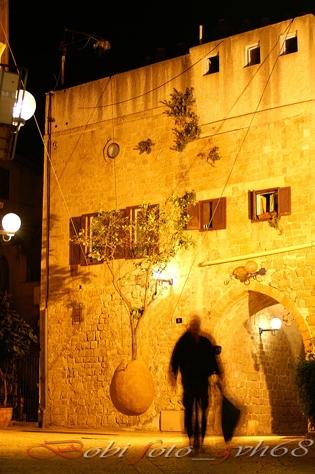 Призрак на улицах Яффо