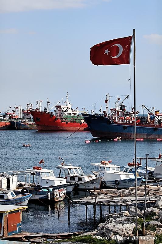 Мраморное море Стамбул
