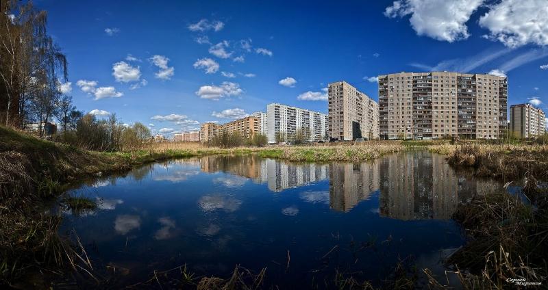Мой город Мытищи на Яузе-реке