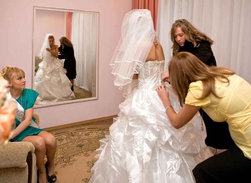 комната для невесты...