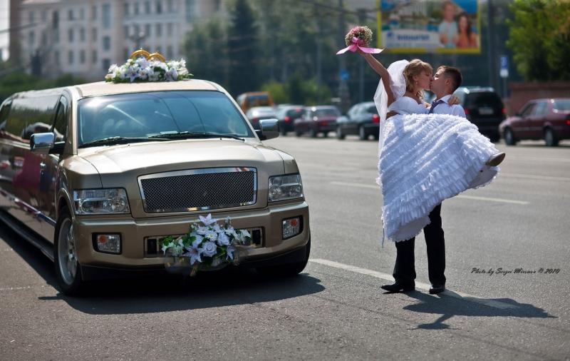 на улицах Москвы не смотря на жару...