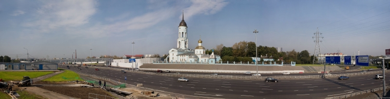 Ярославское шоссе, новая развязка