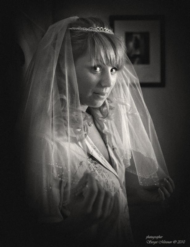 """невеста с """"хитринкой""""..."""
