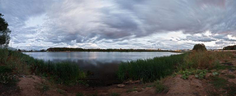 панорама на Рупасовский пруд