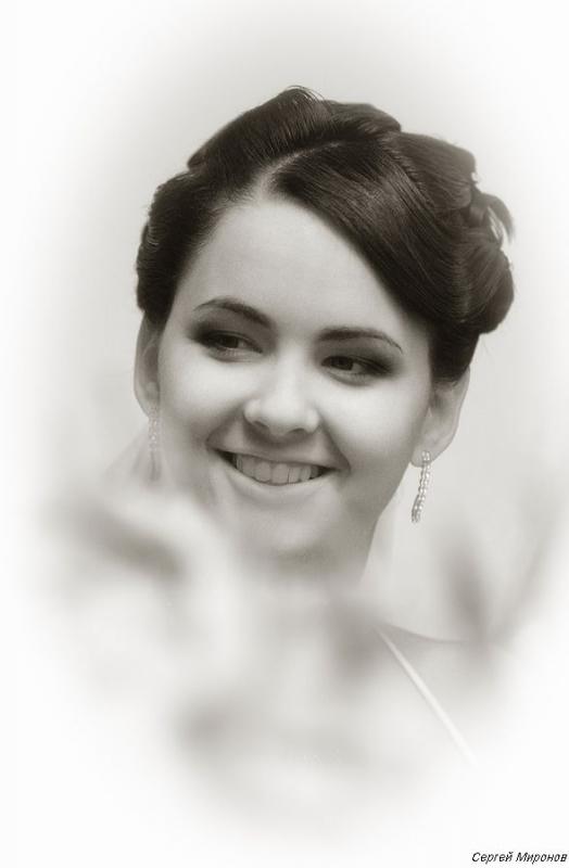 портрет очаровательной невесты