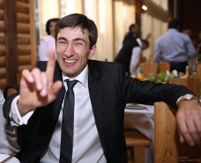 Лица на абхазской свадьбе