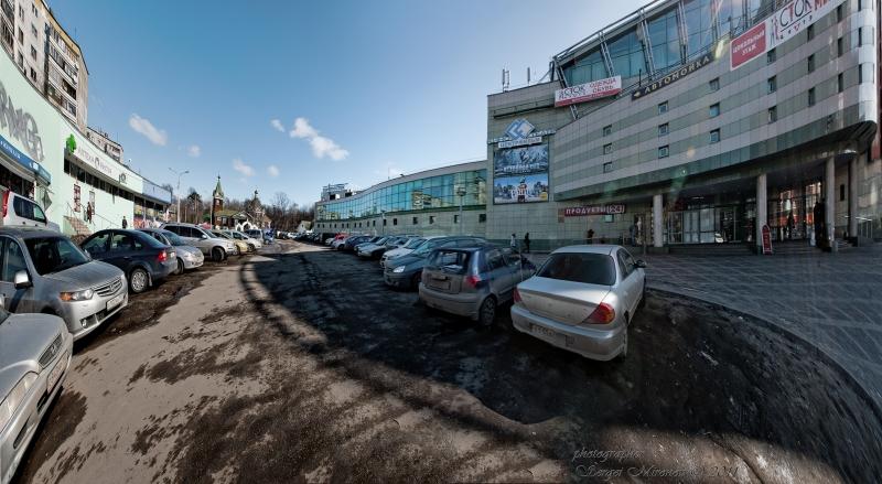 """Торговый центр, что на станции """"Перловская"""""""