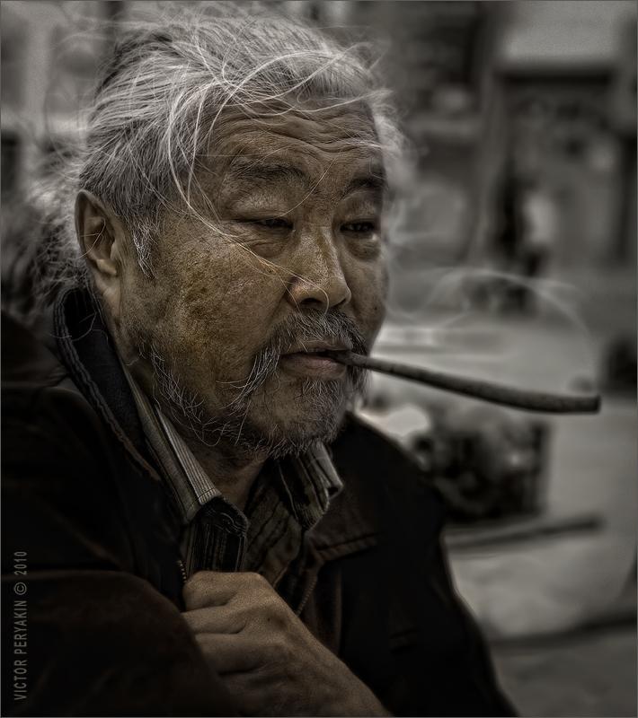 Портрет бурятского художника | Виктор Перякин | Портрет | Фотография #26302