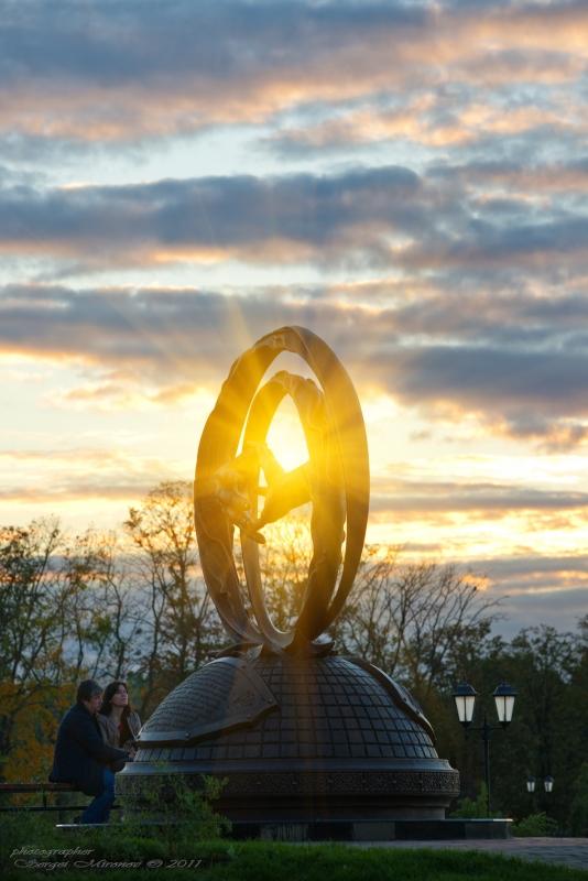Памятник Любви в Мытищах