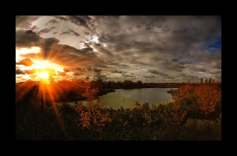 закат на Сукромке