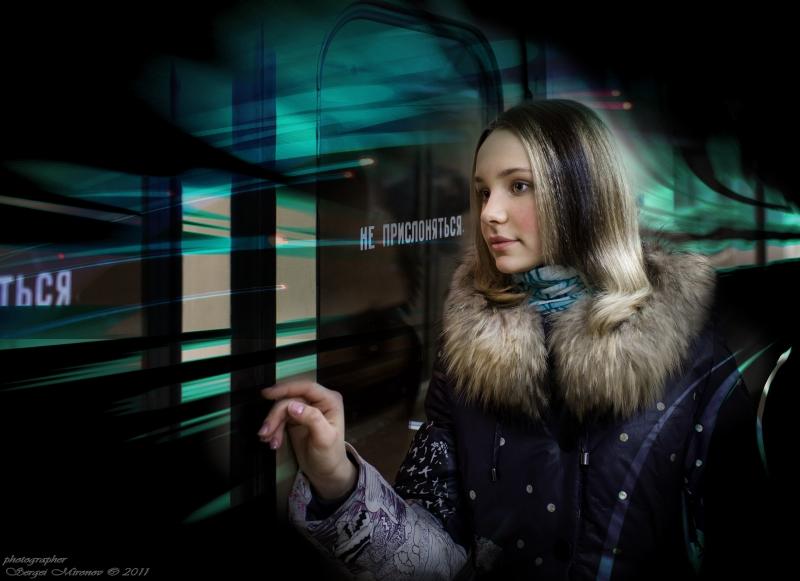 портрет в московском метрополитене