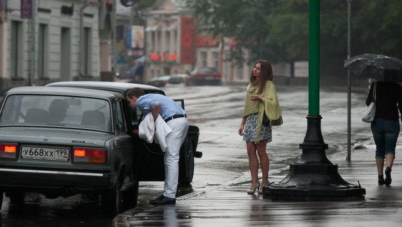 дождливым утром