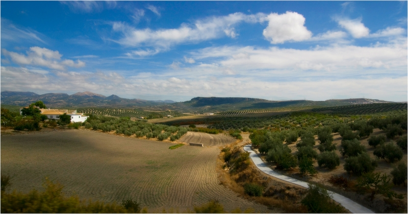 испанский пейзаж