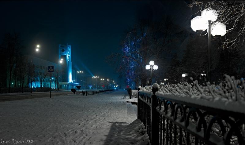 ночной город (Мытищи)