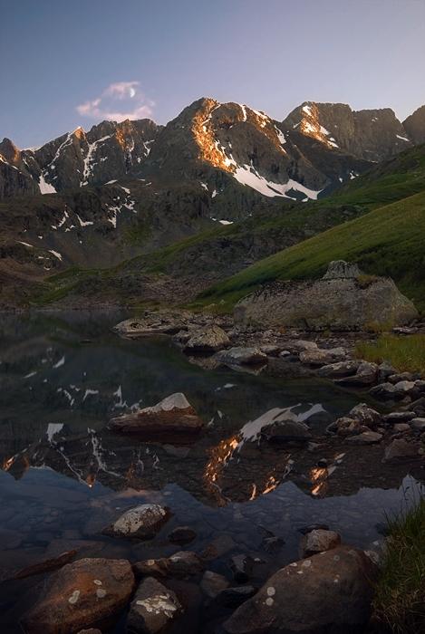 Озеро Акчан