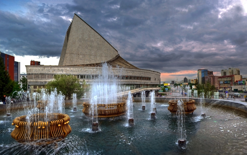 Театр Глобус. Новосибирск