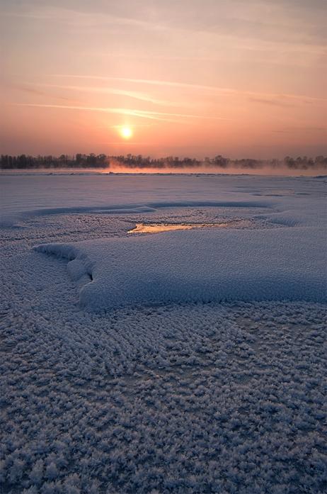 Зимняя Обь