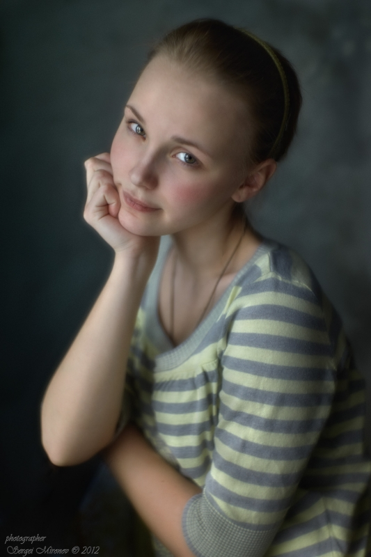 портрет для проверки объектива