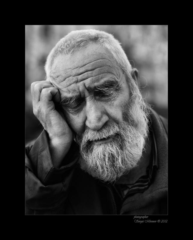 Старик и думы...