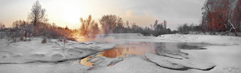 Клязьма-река на рассвете