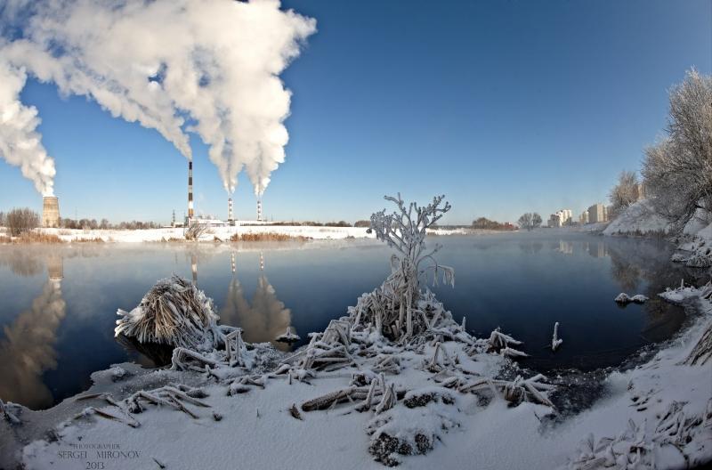 г.Мытищи и река Сукромка