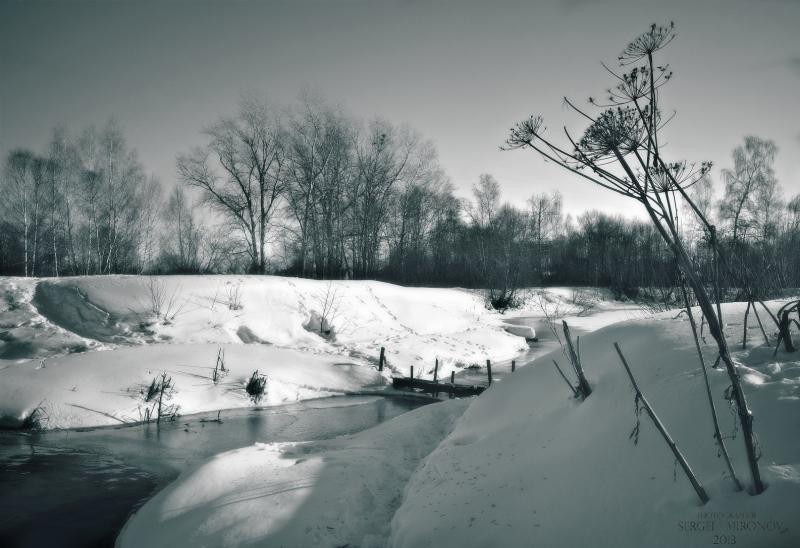 март, река Клязьма