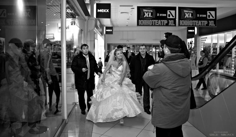 Свадебный шопинг...