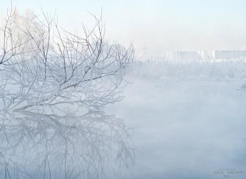 на реке Сукрома (что в черте города Мытищи)