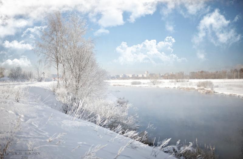 Зимы прекрасные мгновения...