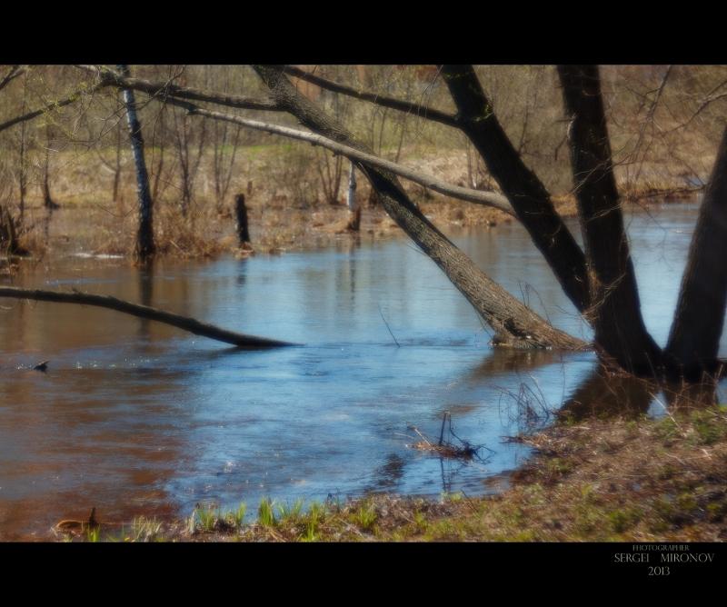 река Яуза весной