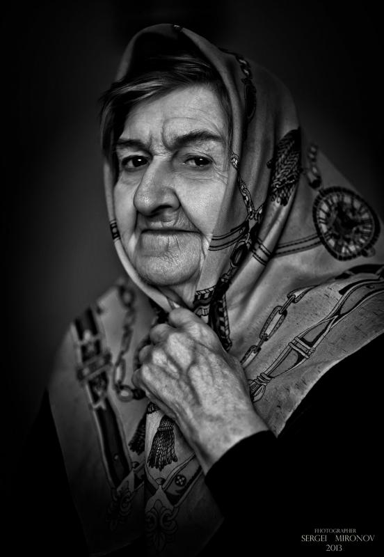 портрет из дома престарелых...