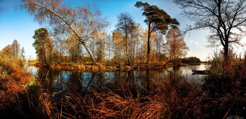 осень в Гребнево