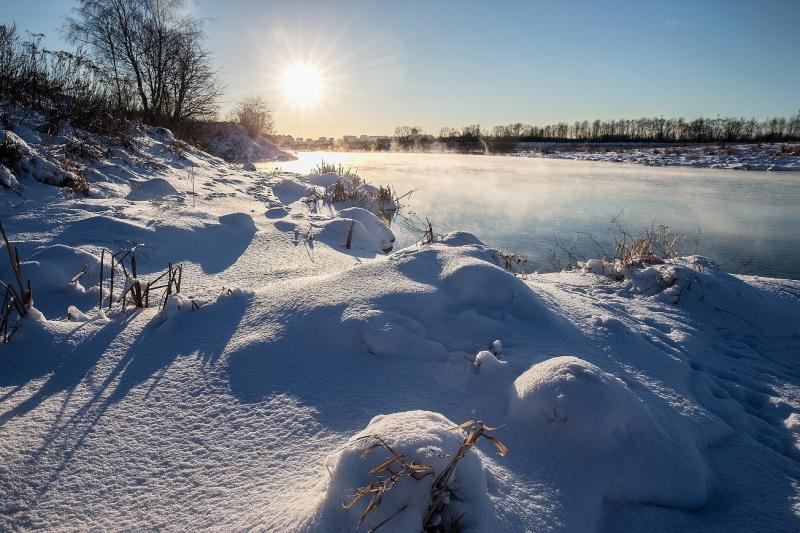 зимний контражур