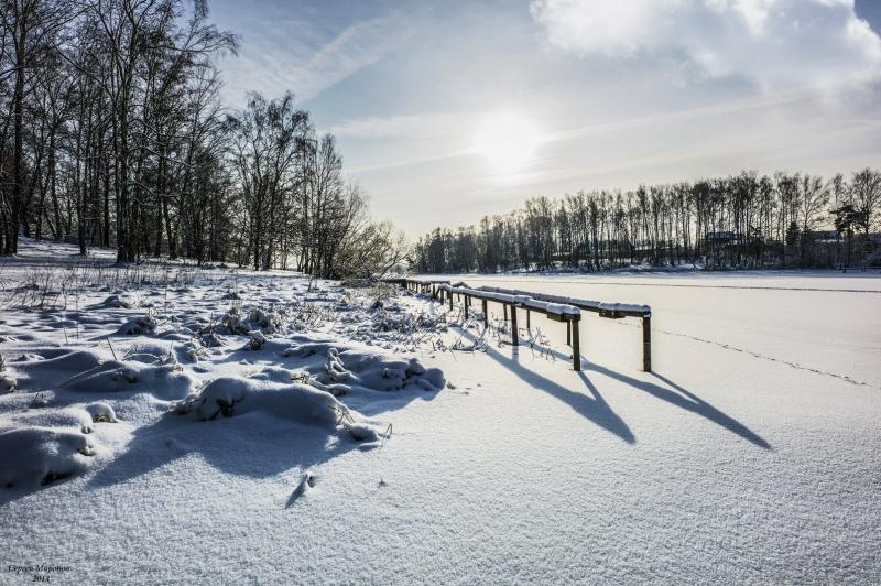 зима в контражуре