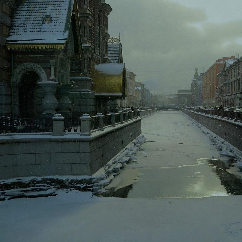Снег кружится, летает, летает.. | Город | Фотография #143814