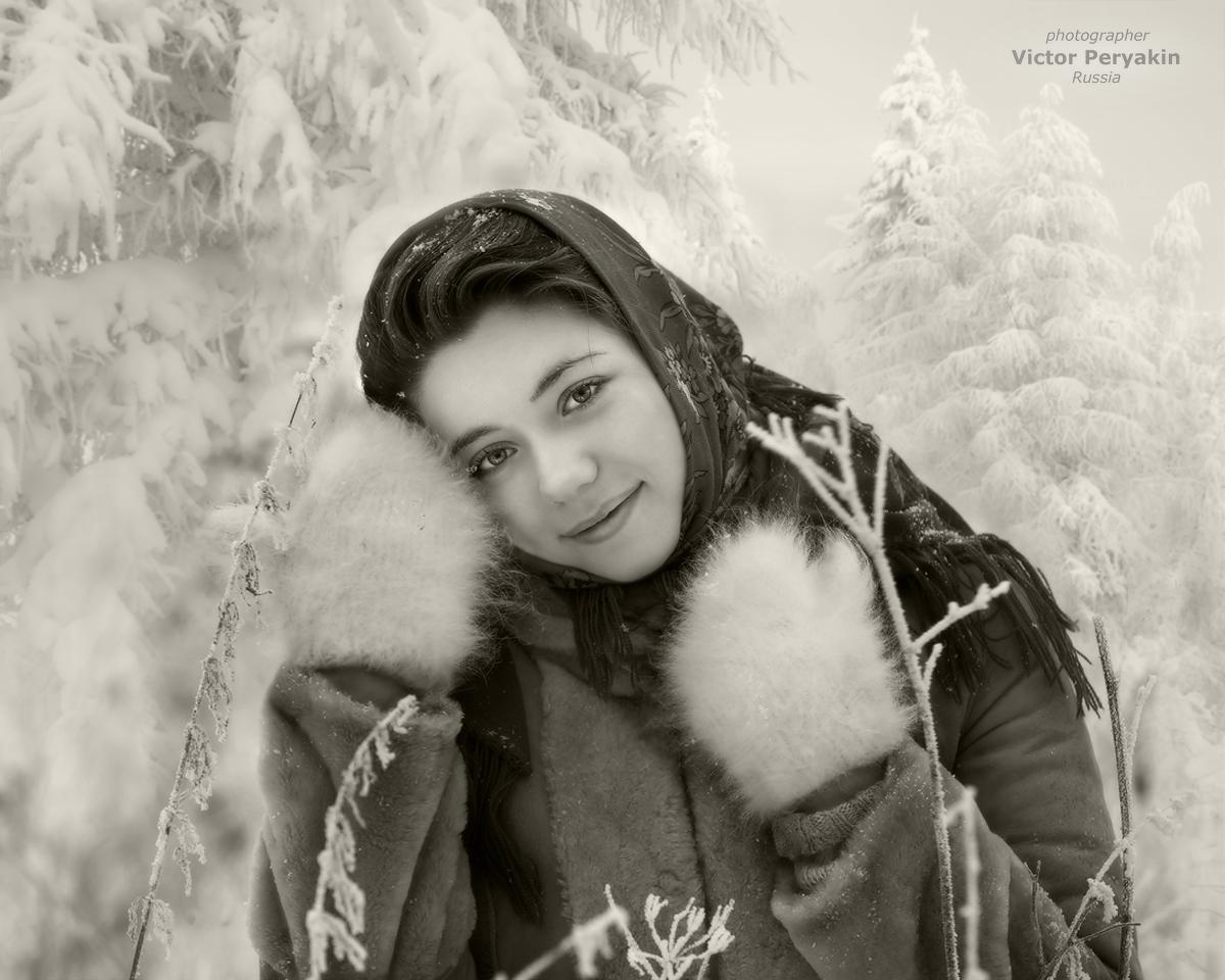 теплые варежки_МОРОЗКО | Виктор Перякин | Портрет | Фотография #144159