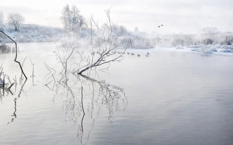 пейзаж на реке Сукромка