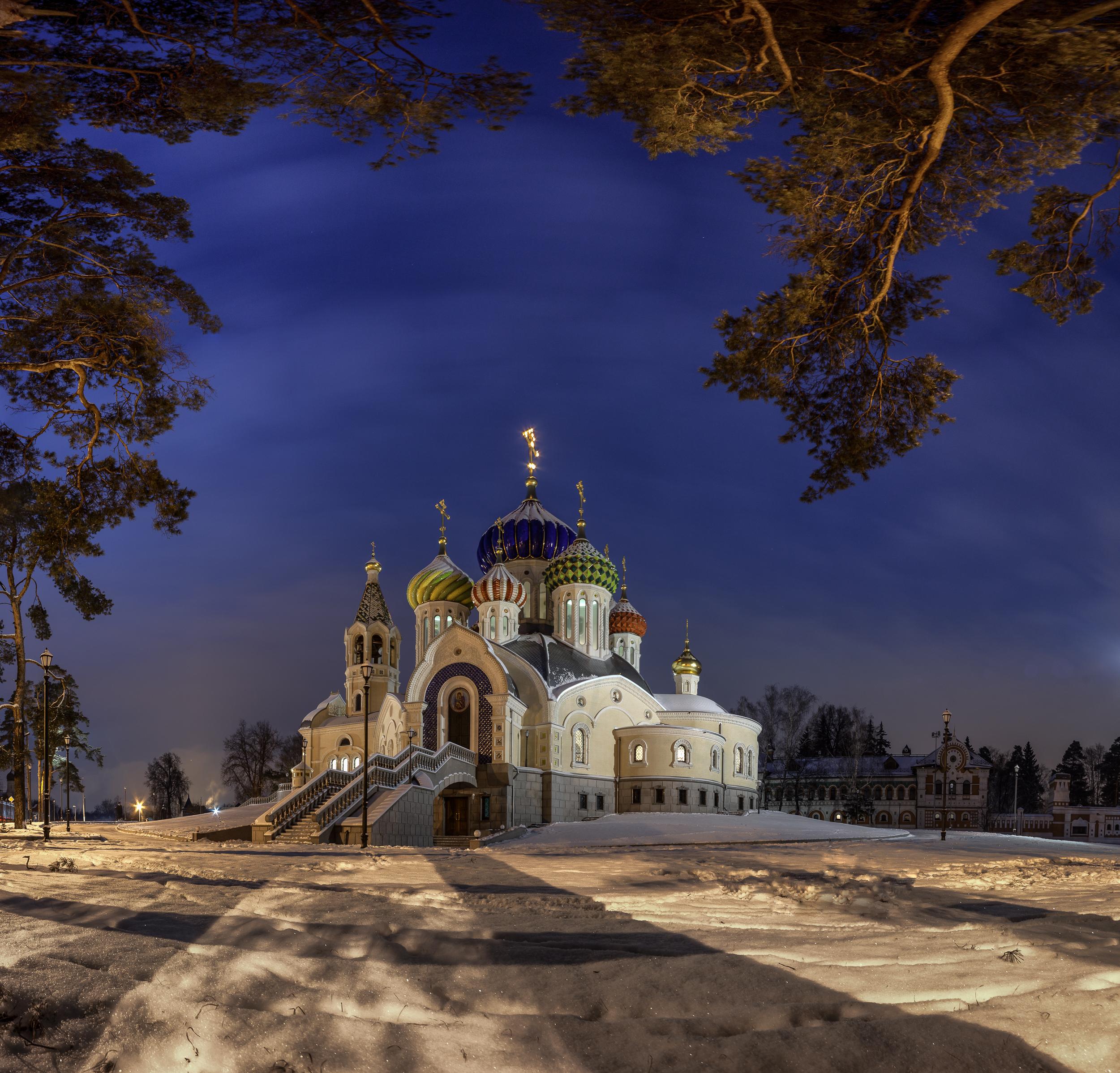 Зимний вечер в Переделкино | Религия | Фотография #159587