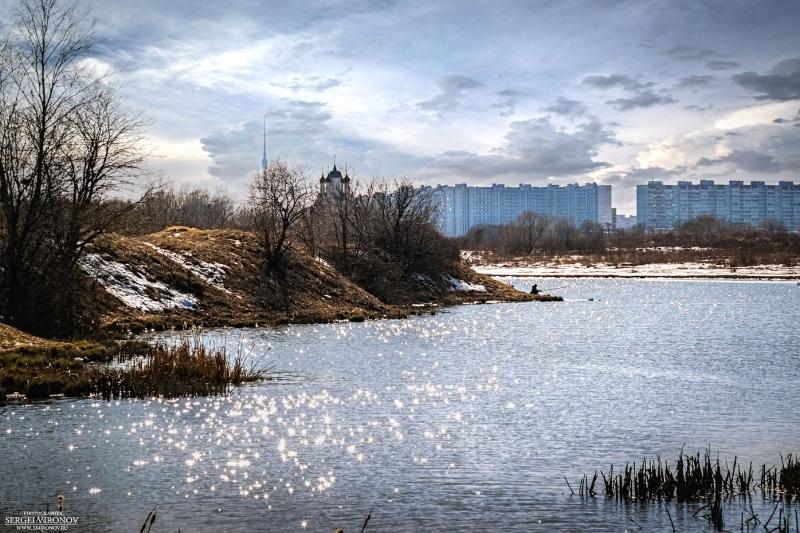 на реке Сукромка
