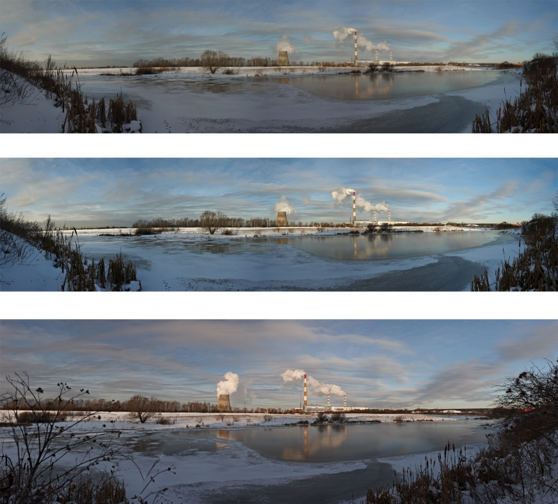3 панорамы - сравнение для тех, кого интересует камера Ricoh GXR