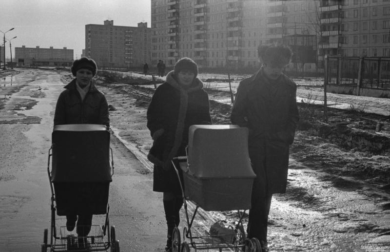 1981 год ул. Лётная