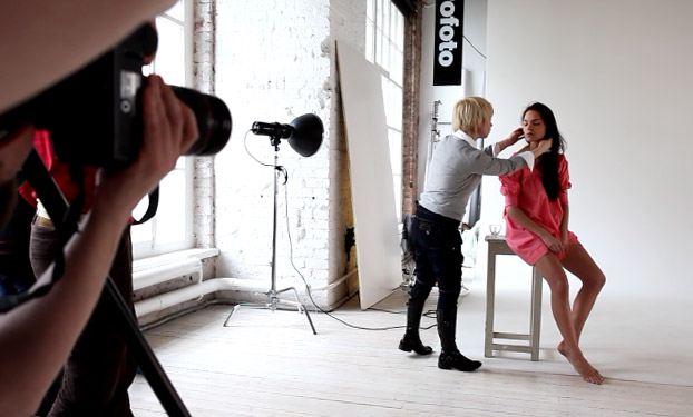 наклеены ровно работа с моделью на фотосессии мастер класс голодный