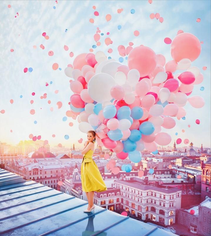 Кристина Макеева: воздушные шары, фонари и мыльные пузыри |  INSPIDER | Статья | Текст #204629