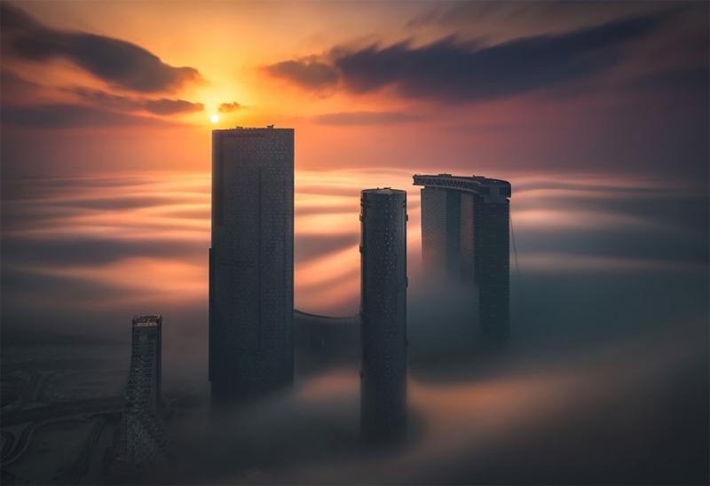 Khalid Alhammadi: Абу-Даби в утреннем тумане |  INSPIDER | Статья | Текст #208239