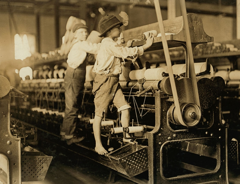 Фотографии из 1900х, повлекшие реформу трудового законодательства | Компания INSPIDER | Текст #212241