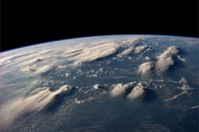 Фотографии с международной космической станции
