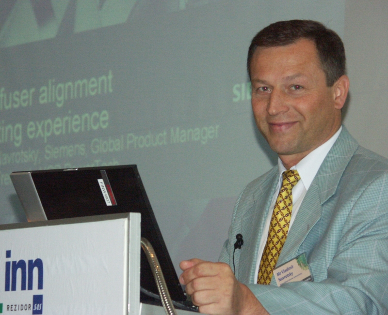 Владимир Навроцкий, выпускник 1983 г., Начальник подразделения научно-исследовательских работ в Siemens | Компания FALT Family | Текст #225982