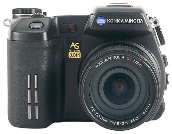 Konica Minolta DiMAGE A2   Фотоаппараты с объективами   Техника #110